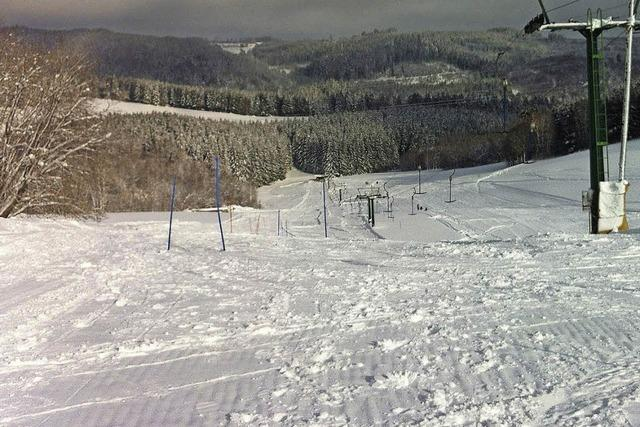 Skilift Brenden läuft