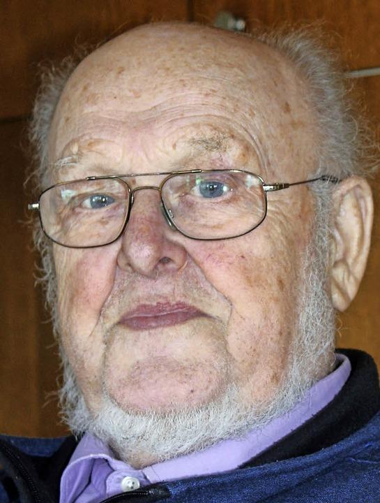 Karl Bächle (82) gründete vor 50 Jahre...echnikunternehmen Bächle in Löffingen.  | Foto: Christa Maier