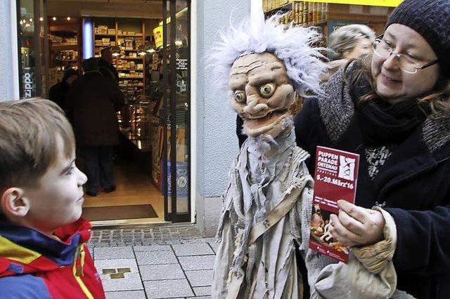 In der Innenstadt tanzen wieder die Puppen