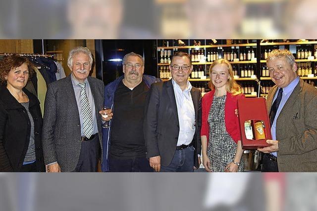 Die Weinregion stärken
