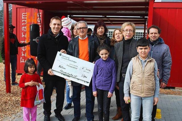 Spende für die Arbeit mit Flüchtlingskindern