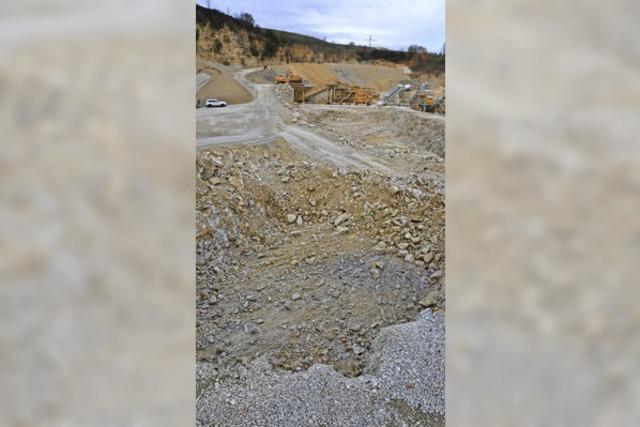 Vorstellung der Steinbruch-Pläne