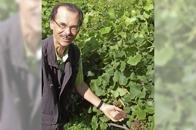 Johannes Werner wird Weinbauberater