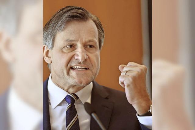 Der FDP-Spitzenkandidat Hans-Ulrich Rülke sieht seine Partei auf dem Weg nach oben