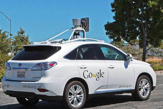 Crash des Roboterwagens: Google-Auto verschuldet Unfall