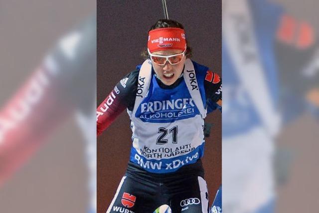 Magdalena Neuner hofft auf viele Medaillen