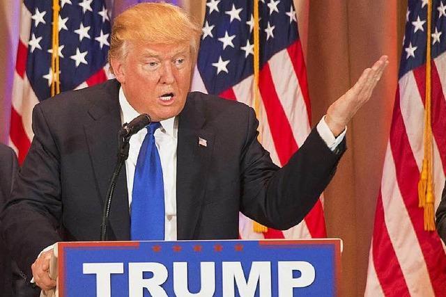 Trump und Clinton holen wichtige Siege am