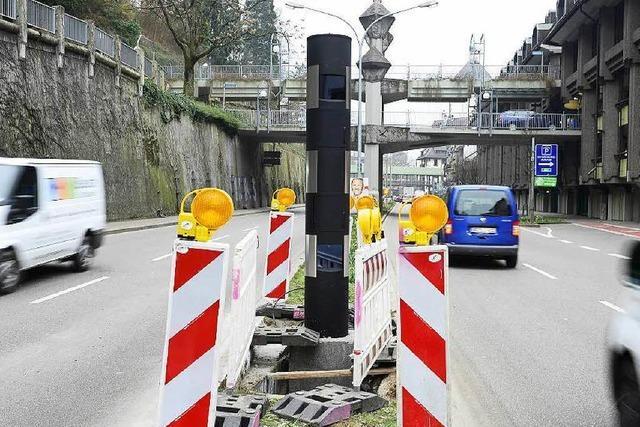 In Freiburg stehen drei neue Tempo-Blitzer