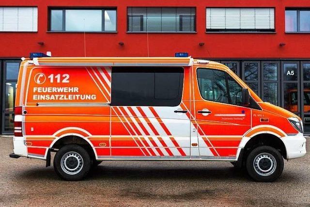 BZ erklärt den Einsatzleitwagen der Feuerwehr