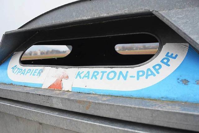 Wilder Müll: Container werden in Denzlingen entfernt