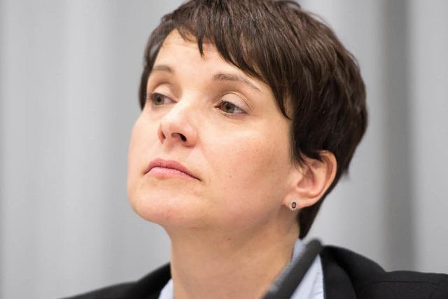 Frauke Petry: Auch in Oberkirch nicht erwünscht