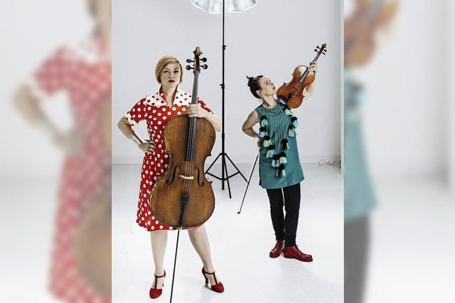 Duo mit Cello Bratsche und Gesang in der Stadthalle