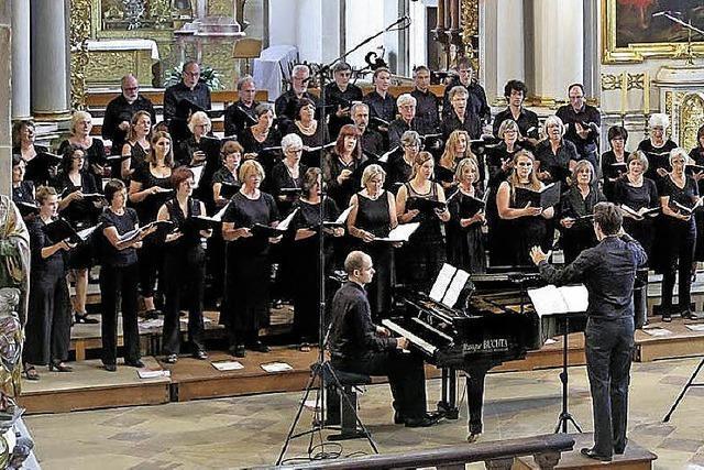 Ein selten aufgeführtes Stabat mater spielt die Heinrich-Schütz-Kantorei