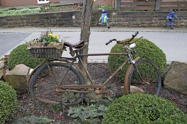 Gartendeko in Oberweier