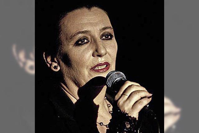Gabi Kinsky singt Lieder von Hildegard Knef