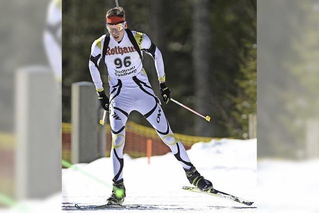 Drei Todtnauer Biathleten beim Deutschlandpokal