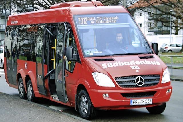 Weniger Gäste im Stadtbus