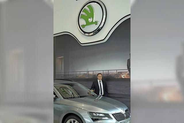 Die Markenwelt von Škoda wird in neuer Halle präsentiert