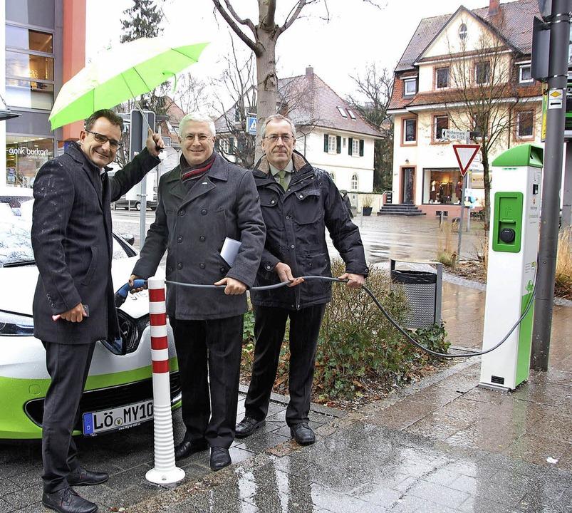 Eine saubere Sache: In einer Stunde is...aupt- und Schillerstraße stationiert.     Foto: Frey