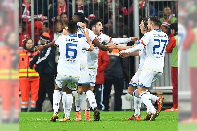 Bayern München kassiert Heimniederlage gegen FSV Mainz