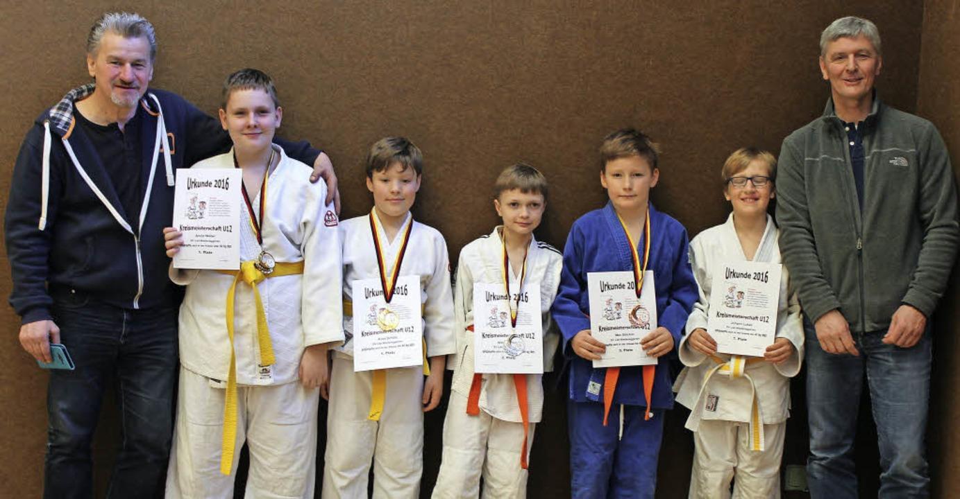 <BZ-FotoAnlauf>SV Liel-Niedereggenen:</BZ-FotoAnlauf> erfolgreiche junge Judoka  | Foto: Jenny Piussi