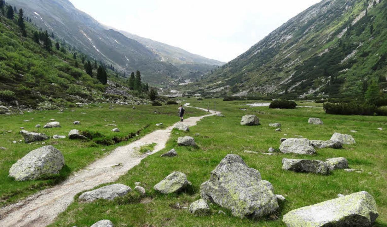 Der Weg ist das Ziel: irgendwo unterwegs zwischen Deutschland und Italien  | Foto: Felix Held