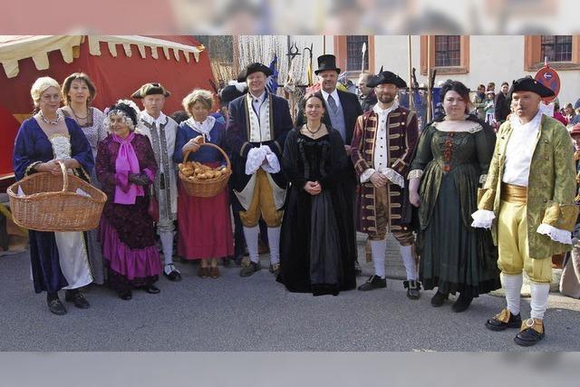 Brauch zu Ehren der Markgräfin Katharina Barbara von Baden in Sulzburg