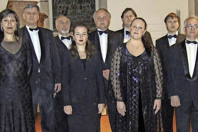 Russische sakrale Werke und russische Volkslieder in Hinterzarten