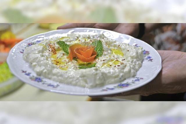 Syrische Gerichte in Hülle und Fülle