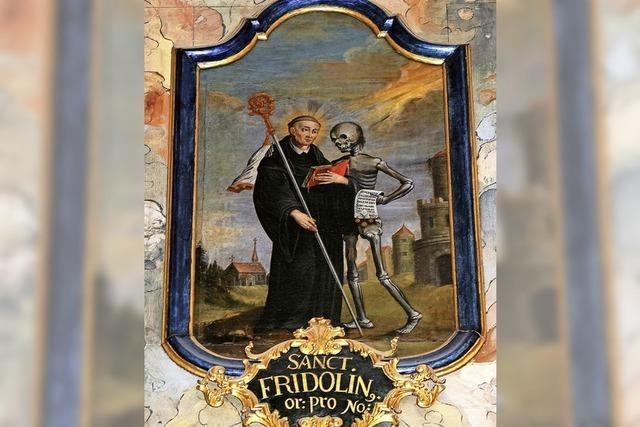 Auf den Spuren des heiligen Fridolin
