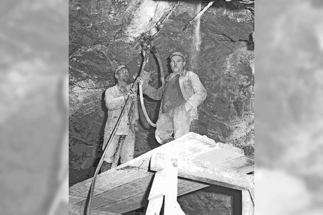 1919: Bergleute von Gesteinsbrocken erschlagen
