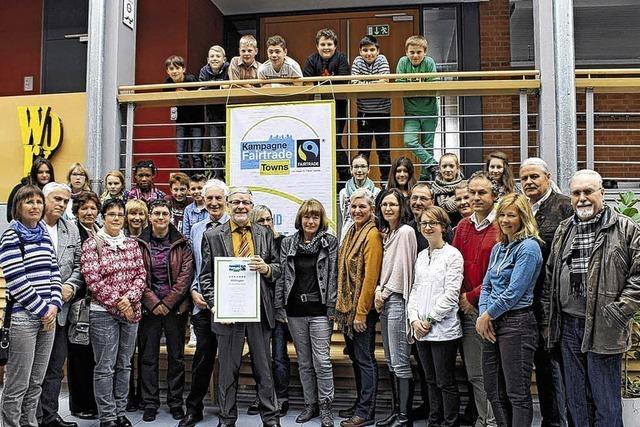 Hüfingen ist offiziell Fairtrade-Town