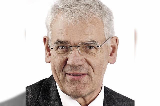 CDU-Stadtrat Hansjörg Sandler ist tot