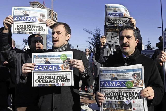 Schwerer Schlag für die Pressefreiheit in der Türkei