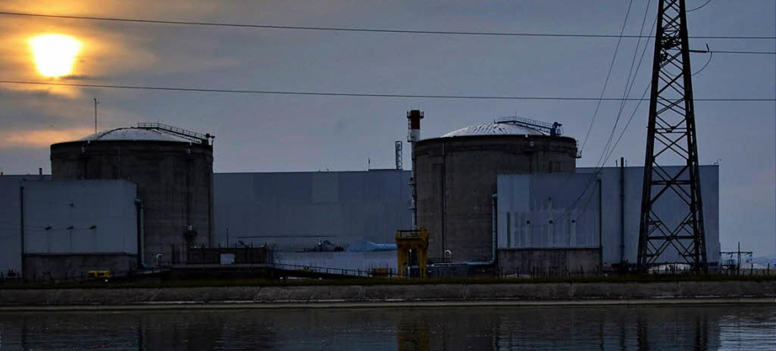 Seit 1977 in Betrieb und damit das ält...h – der Pannenreaktor Fessenheim  | Foto: afp