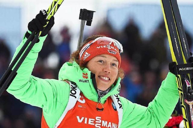 Sprint-Bronze für Laura Dahlmeier
