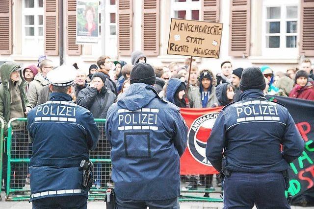 AfD-Kundgebung endet friedlich