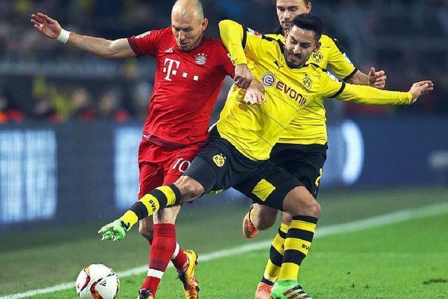 Bayern und Dortmund trennen sich torlos