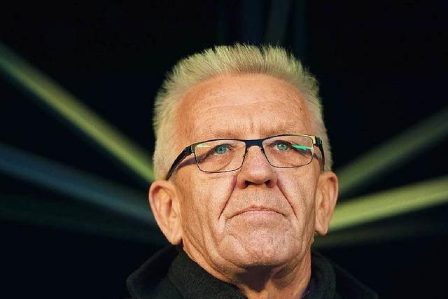 Kretschmann verteidigt 300 000-Euro-Spende