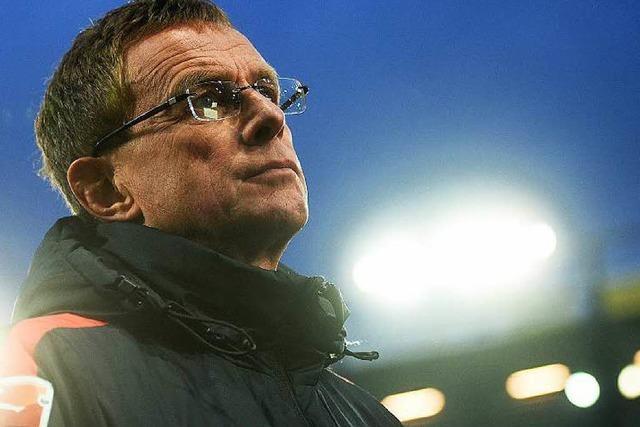 Leipzig-Trainer Rangnick: