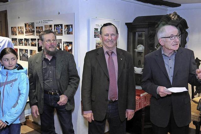 Das Heimatmuseum Oberweier zeigt einen Rückblick auf das Dorfjubiläum