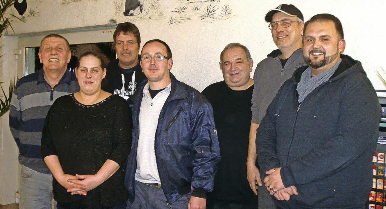 Der Vorstand  des Kleintierzuchtverein...bacher und Schriftführer Eduard Ratke     Foto: Steineck