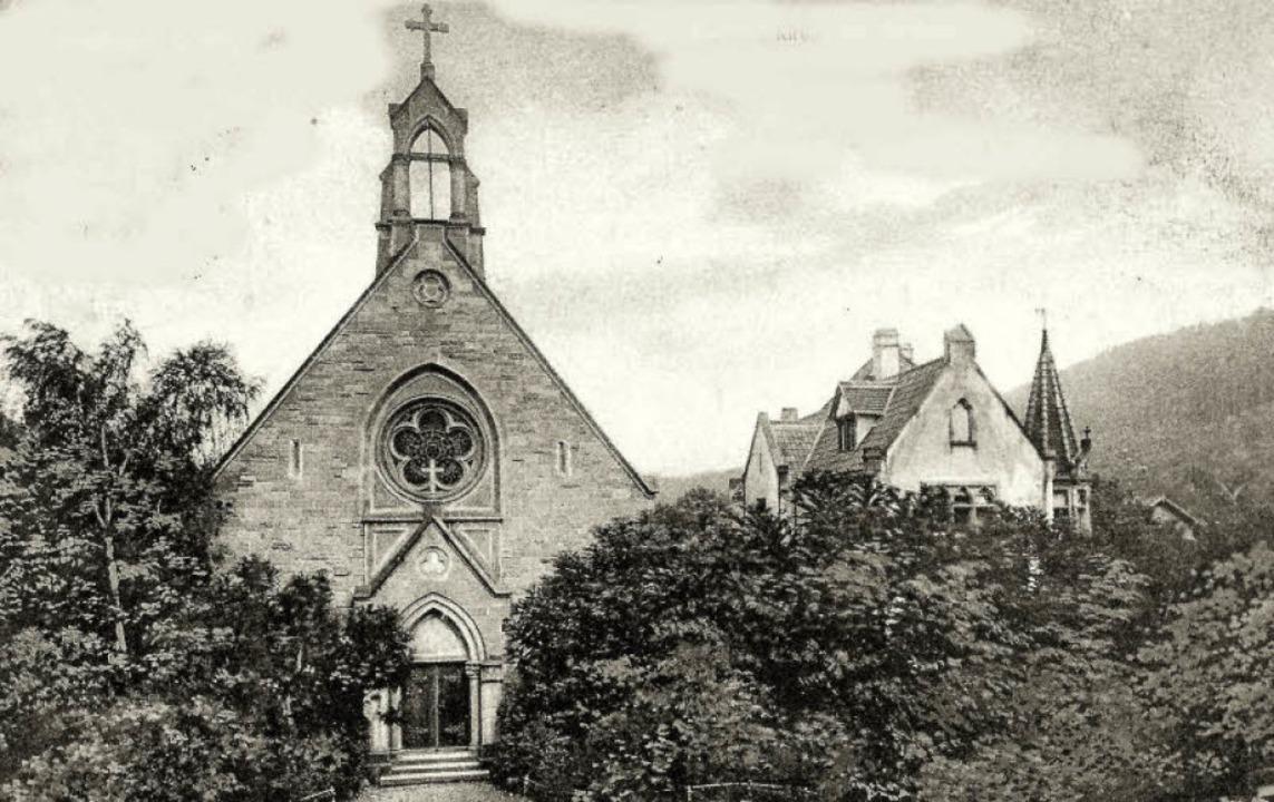 Im Oktober 1894 wurde  die im neugotis...aute Anglikanische Kirche eingeweiht.   | Foto: Archiv Sigmund