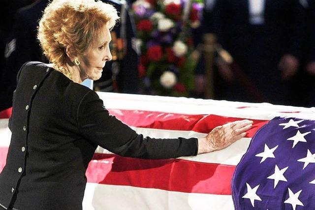 Nancy Reagan ist tot: Trauer um frühere First Lady