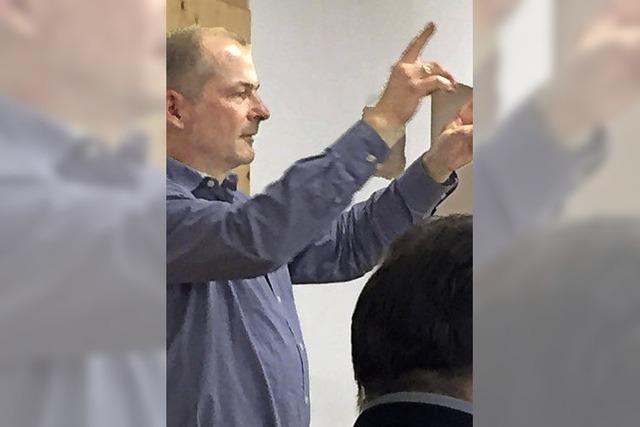 Joachim Wendland dirigiert Stadtmusik