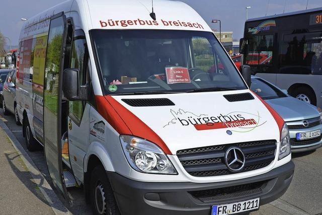 Bürgerbus ist auf der Überholspur