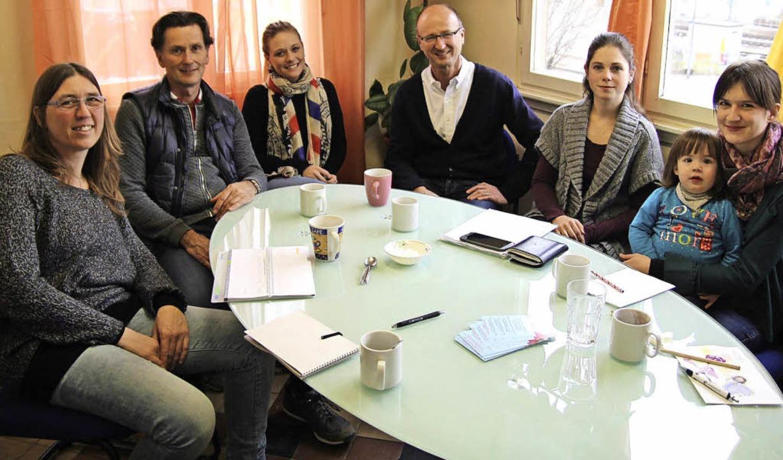 Sie stellten das Konzept für die verlä...und  Katrin Schadl (Familienzentrum).   | Foto: Rubén Löwy