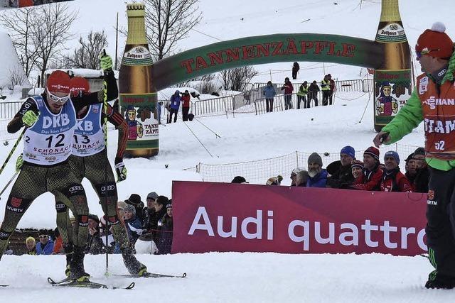 Fabian Rießle mit famosem Weltcupfinale