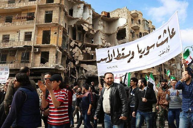 In Syrien gibt es wieder Demonstrationen gegen Assad