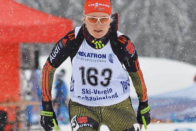 Deutsche Jugend- und Juniorenmeisterschaft der Biathleten in Todtnau